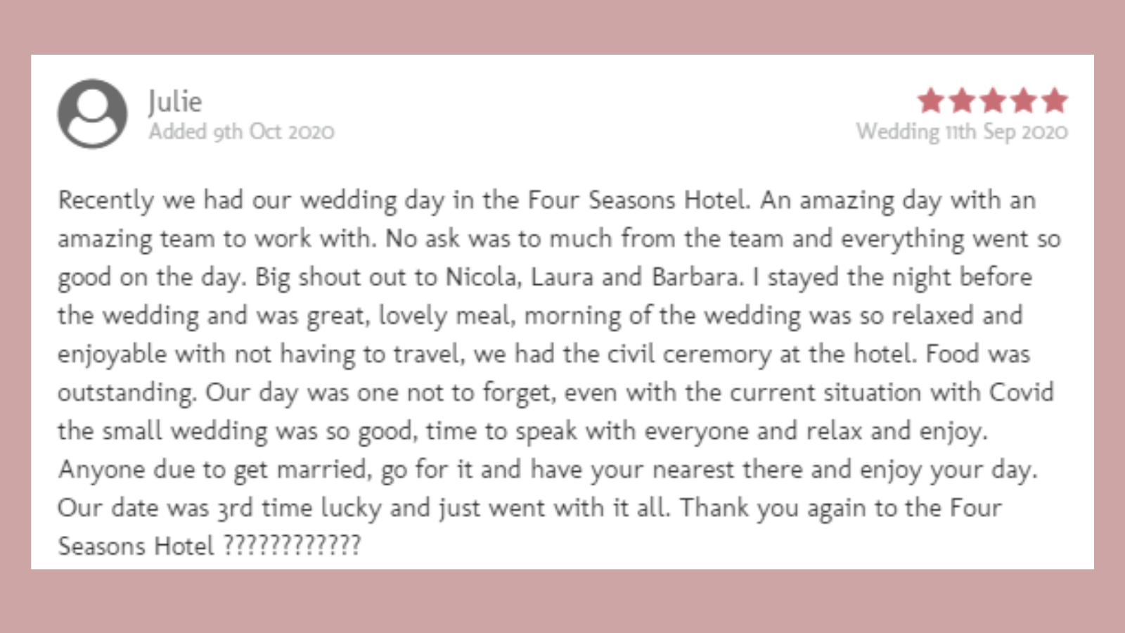 WeddingsOnline Review